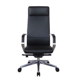 Компьютерное кресло для руководителя Riva Chair А1811 Чёрный (А8) натуральная кожа, Цвет товара: Черный, изображение 2