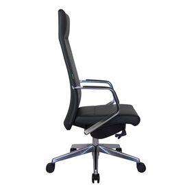 Компьютерное кресло для руководителя Riva Chair А1811 Чёрный (А8) натуральная кожа, Цвет товара: Черный, изображение 3