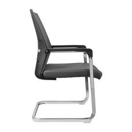 Офисное кресло для посетителей Riva Chair D818 серое, Цвет товара: Серый, изображение 3