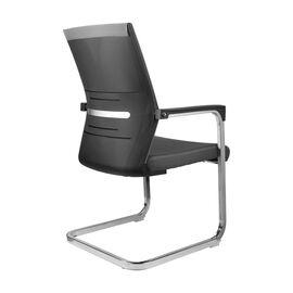 Офисное кресло для посетителей Riva Chair D818 серое, Цвет товара: Серый, изображение 4