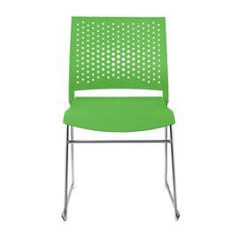 Офисное кресло для посетителей Riva Chair D918 (D918-1) Зелёный пластик, Цвет товара: Зеленый, изображение 2
