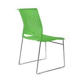 Офисное кресло для посетителей Riva Chair D918 (D918-1) Зелёный пластик, Цвет товара: Зеленый, изображение 4