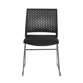 Офисное кресло для посетителей Riva Chair D918 Чёрный пластик, Цвет товара: Черный, изображение 2