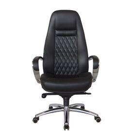 Компьютерное кресло для руководителя Riva Chair F185 Чёрный (А8) натуральная кожа, Цвет товара: Черный, изображение 2