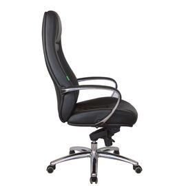 Компьютерное кресло для руководителя Riva Chair F185 Чёрный (А8) натуральная кожа, Цвет товара: Черный, изображение 3
