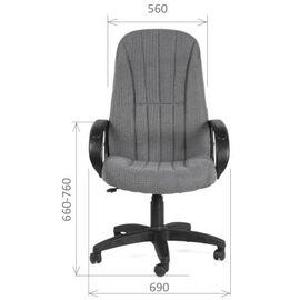 Компьютерное кресло для руководителя Chairman 685 СТ Черный, Цвет товара: Черный, изображение 2