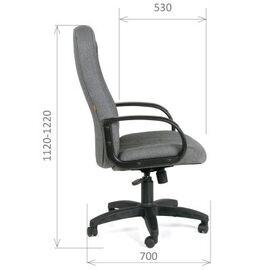 Компьютерное кресло для руководителя Chairman 685 СТ Черный, Цвет товара: Черный, изображение 3