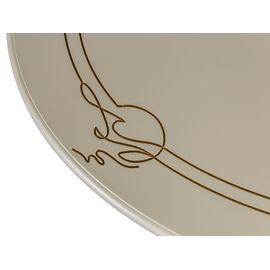 Стол журнальный Овация М Mebelik Слоновая кость  / Золото 900х610х490, Цвет товара: Слоновая кость, изображение 3