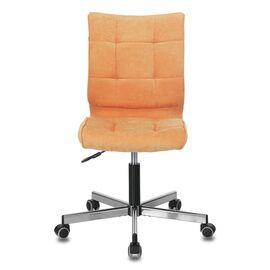 Компьютерное кресло Бюрократ CH-330M/VELV72 оранжевый Velvet 72 крестовина металл, Цвет товара: Оранжевый Velvet 72 , изображение 3