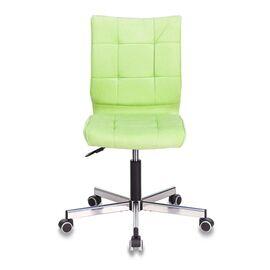 Компьютерное кресло Бюрократ CH-330M/VELV81 светло-салатовый Velvet 81 крестовина металл, Цвет товара: Салатовый Velvet 81, изображение 3