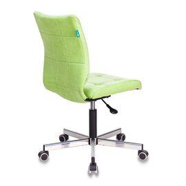 Компьютерное кресло Бюрократ CH-330M/VELV81 светло-салатовый Velvet 81 крестовина металл, Цвет товара: Салатовый Velvet 81, изображение 5