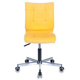 Компьютерное кресло Бюрократ CH-330M/VELV74 желтый Velvet 74 крестовина металл, Цвет товара: желтый Velvet 74, изображение 3