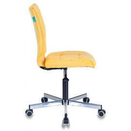 Компьютерное кресло Бюрократ CH-330M/VELV74 желтый Velvet 74 крестовина металл, Цвет товара: желтый Velvet 74, изображение 4