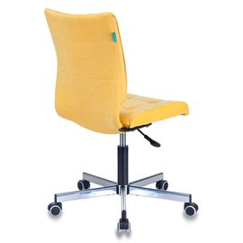 Компьютерное кресло Бюрократ CH-330M/VELV74 желтый Velvet 74 крестовина металл, Цвет товара: желтый Velvet 74, изображение 5
