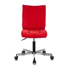 Компьютерное кресло Бюрократ CH-330M/VELV88 красный Velvet 88 крестовина металл, Цвет товара: красный Velvet 88, изображение 3