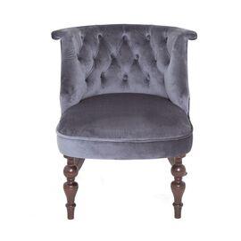 Кресло Бархат (темный тон / 36 - голубовато-серый) Red Black, изображение 3