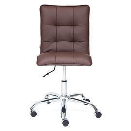 Компьютерное кресло «Zero» кож/зам, Коричневый (36-36) TetChair, Цвет товара: Коричневый, изображение 3