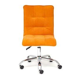 Компьютерное кресло «Zero» флок  оранжевый 18 TetChair, Цвет товара: Оранжевый, изображение 3
