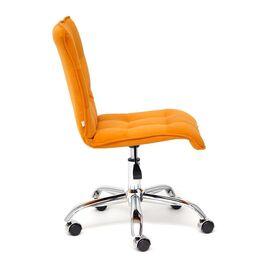 Компьютерное кресло «Zero» флок  оранжевый 18 TetChair, Цвет товара: Оранжевый, изображение 4