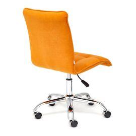 Компьютерное кресло «Zero» флок  оранжевый 18 TetChair, Цвет товара: Оранжевый, изображение 5