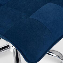 Компьютерное кресло «Zero» флок , синий, 32 TetChair, Цвет товара: Синий,тон 32, изображение 8
