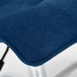 Компьютерное кресло «Zero» флок , синий, 32 TetChair, Цвет товара: Синий,тон 32, изображение 9