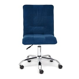 Компьютерное кресло «Zero» флок , синий, 32 TetChair, Цвет товара: Синий,тон 32, изображение 3