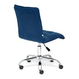 Компьютерное кресло «Zero» флок , синий, 32 TetChair, Цвет товара: Синий,тон 32, изображение 5
