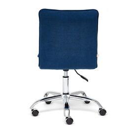 Компьютерное кресло «Zero» флок , синий, 32 TetChair, Цвет товара: Синий,тон 32, изображение 6