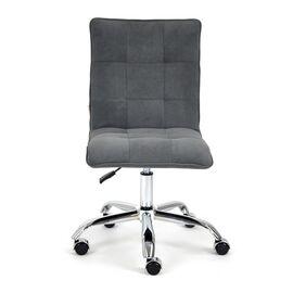 Компьютерное кресло «Zero» флок , серый, 29 TetChair, Цвет товара: Серый,тон 29, изображение 3