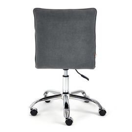 Компьютерное кресло «Zero» флок , серый, 29 TetChair, Цвет товара: Серый,тон 29, изображение 6