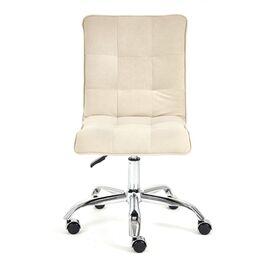 Компьютерное кресло «Zero» флок , бежевый, 7 TetChair, Цвет товара: Бежевый, изображение 2