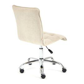 Компьютерное кресло «Zero» флок , бежевый, 7 TetChair, Цвет товара: Бежевый, изображение 4