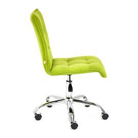 Компьютерное кресло «Zero» флок  олива, 23 TetChair, Цвет товара: оливковый, изображение 4