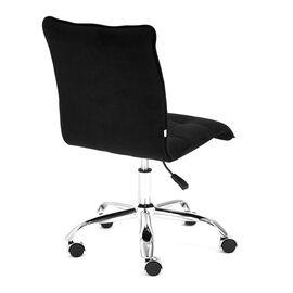 Компьютерное кресло «Zero» флок , черный, 35 TetChair, Цвет товара: Черный, изображение 5