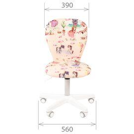 Компьютерное кресло для детской комнаты Chairman KIDS 105 белый пластик (Космос), Цвет товара: Космос, изображение 4