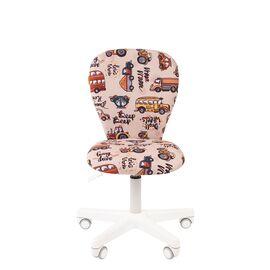 Компьютерное кресло для детской комнаты Chairman KIDS 105 белый пластик (Автобус), Цвет товара: Автобус, изображение 2