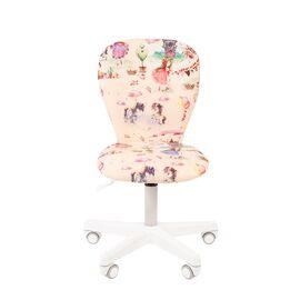 Компьютерное кресло для детской комнаты Chairman KIDS 105 белый пластик (Принцессы), Цвет товара: Принцессы, изображение 2