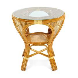 Стол обеденный из ротанга MOKKO L, 11-10 К коньячный Ecodesign, Цвет товара: Коньячный, изображение 2