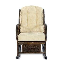 Кресло-качалка COMODO, 05-19 Б (подушка шенилл) EcoDesign, изображение 4