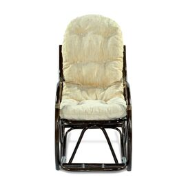 Кресло-качалка с подножкой 05-17 Б (подушка Ткань шенилл) EcoDesign, изображение 2