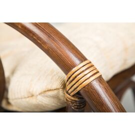 Кресло-качалка с подножкой 05-17 Matt Б (подушка Ткань шенилл) EcoDesign, изображение 2