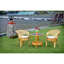 Стол кофейный ПЕЛАНГИ, 02-15А К Коньячный Ecodesign, Цвет товара: Коньячный, изображение 2