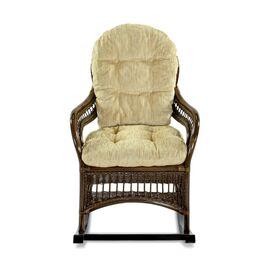 Кресло-качалка KIWI (подушка Ткань шенилл) EcoDesign, изображение 2