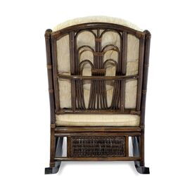 Кресло-качалка COMODO, 05-19 Б (подушка шенилл) EcoDesign, изображение 3