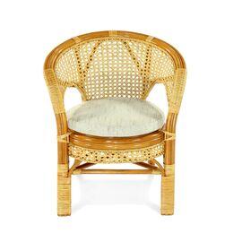 Кресло из ротанга ПЕЛАНГИ, 02-15В К Ecodesign, Цвет товара: Коньячный, изображение 3