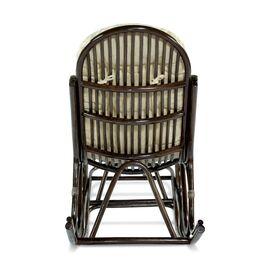 Кресло-качалка с подножкой 05-17 Б (подушка Ткань шенилл) EcoDesign, изображение 3
