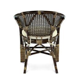 Диван из ротанга ПЕЛАНГИ, 02-15С Б Ecodesign, Цвет товара: Темно коричневый, изображение 3