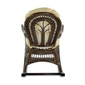 Кресло-качалка KIWI (подушка Ткань шенилл) EcoDesign, изображение 3