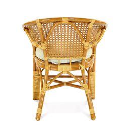 Кресло из ротанга ПЕЛАНГИ, 02-15В К Ecodesign, Цвет товара: Коньячный, изображение 4